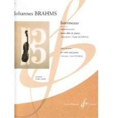 Intermezzo Op. 117 Nº 1