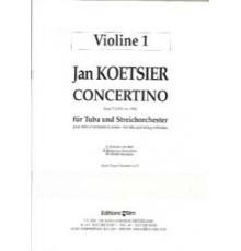 Concertino op. 77/ Partes