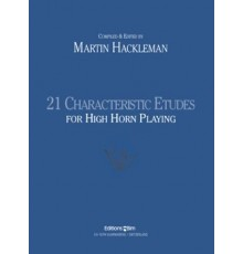 21 Characteristic Etudes