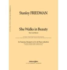 She Walks in Beauty/ Red. Pno.