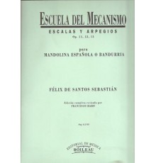 Escuela del Mecanismo Op. 11, 12 y 13
