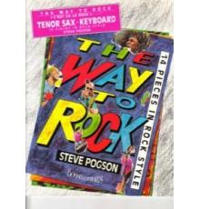 The Way to Rock Tenor Saxophone & Piano