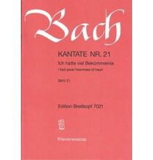 Kantate Nº 21 BWV 21/ Vocal Score