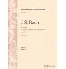 Konzert A moll BWV 1041/ Violín II