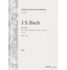 Konzert A moll BWV 1041/ Viola