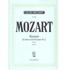 Konzert Nº 2 Es-Dur KV 417/ Red.Pno.