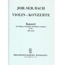 Konzert E-Dur BWV 1042/ Full Score