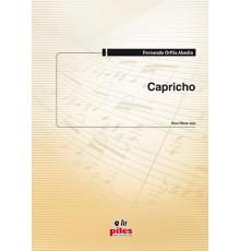 Capricho para Oboe Solo