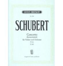 Concerto D-Dur D 345/ Red.Pno.