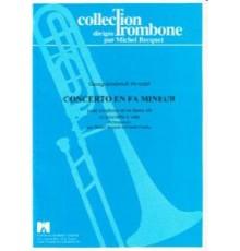 Concerto en Fa mineur/ Score & Parts