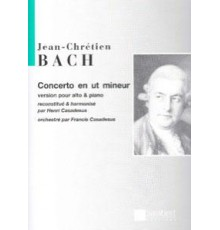 Concerto en Ut mineur pour Alto/ Red. Pn