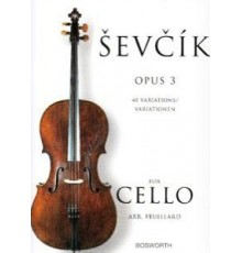 Sevcik Cello Studies Op.3 40 Variations