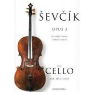 Sevcik Cello Studies Op.3 40 Variations