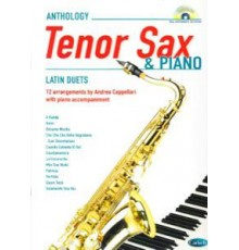 Anthology Tenor Sax and Piano   CD Latin