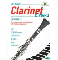 Anthology Clarinet and Piano   CD Latin