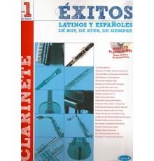 Éxitos Latinos Españoles Vol.1 Clarinete