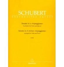 """Sonata in A minor D 821 """"Arpeggione"""""""
