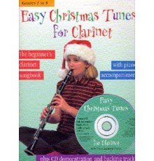 Easy Christmas Tunes for Clarinet   CD
