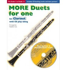 More Duets for One Clarinet   CD