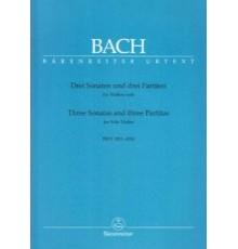 Drei Sonaten und Drei Partiten BWV 1001