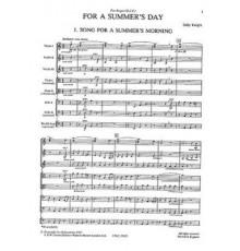 For a Summer?s Day/ Full Score
