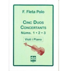 Cinc Duos Concertants Vol. 1,2,3