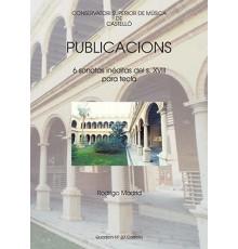 Publicacions Quadern Nº 37 6 Sonatas Iné