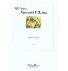 Also Sprach R. Strauss