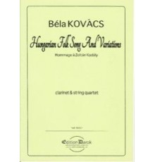 Hungarian Folk Song and Variations