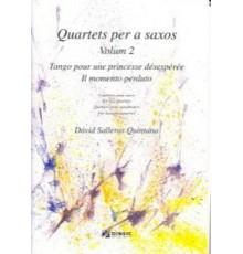 Quartets per a Saxos 2