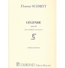 Légende Op. 66/ Red.Pno. Saxo