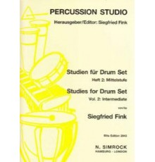 Studies for Drum Set Vol. 2: Intermediat