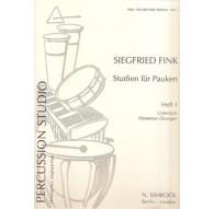 Studies for Timpani Vol. 1 (Pauken)