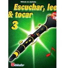 Escuchar, Leer & Tocar. Clarinete 3   CD