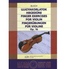 Finger Exercises for Violin Op. 16