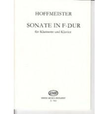 Sonate in F-Dur für Klarinette und Klavi