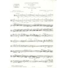 Concerto en Re m. Op. 3 Nº 11/ Viola