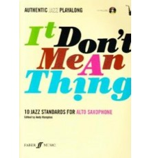 It Don´t Mean a Thing Alto Sax   CD