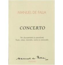 Concerto para Clave y 5 Ins./ Partitura