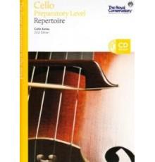 Cello Preparatory Level Repertoire   CD