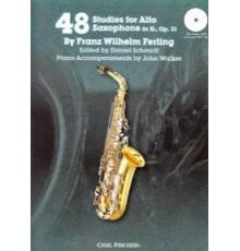 48 Studies for Alto Saxophone Op. 31