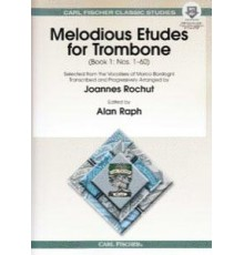 Melodious Etudes for Trombone Book I/ On