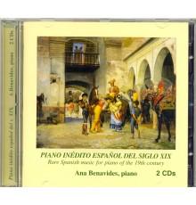 Piano Inédito Español del S. XIX Vol. 1