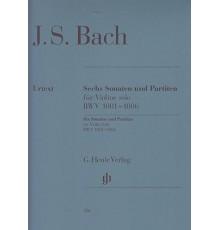Sechs Sonaten und Partiten BWV 1001-1006