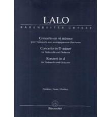 Concerto en D minor/ Full Score