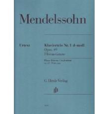 Klaviertrio Nº 1 D-moll Op. 49