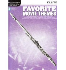 Favorite Movie Themes for Flute/ Book