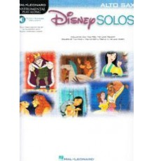 Disney Solos for Alto Sax /  Online Audi