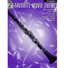 Favorite Movie Themes for Clarinet   CD
