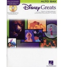 Disney Greats Alto Sax/Book   Online